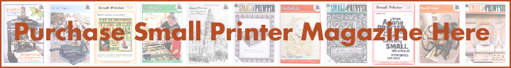 Purchase Small Printer Magazine Here
