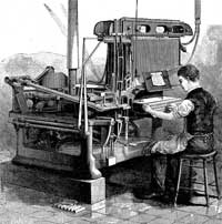Linotype Machine  1889