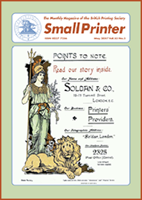Small Printer Vol 52 - May